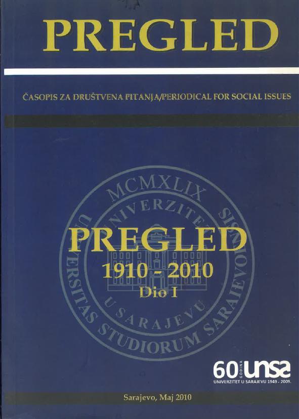 View 2010: Pregled: 1910-2010: Dio I